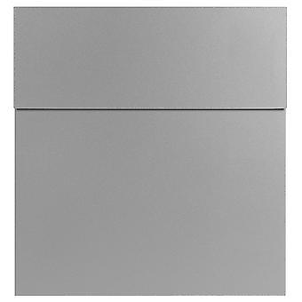 MOCAVI Box 570 Design brievenbus zilver (wit-aluminium, RAL 9006)