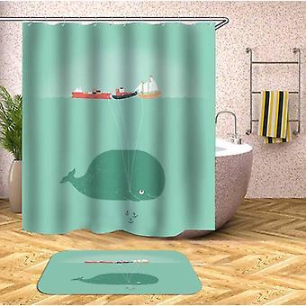 Tenda per la doccia della nave di Baby Whale