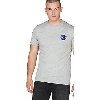 Alpha Industries Wahadłowy T-Shirt Szary 73