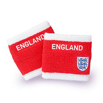 England FA Wristbands (Pack of 2)