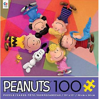 Puzzle - Ceaco - Peanuts Group 100Pcs New 1663-5