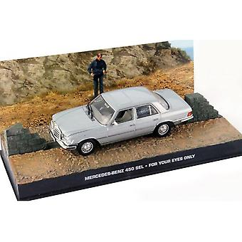 Mercedes Benz 450 SEL Diecast Model Car from James Bond For Your Eyes Only