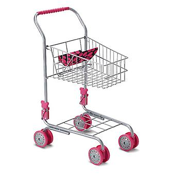 Moni Toy shopping cart 9328 height 41.5 cm, doll seat, foldable, from 3 years