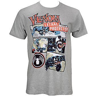 Venom Comic Panels T-Shirt