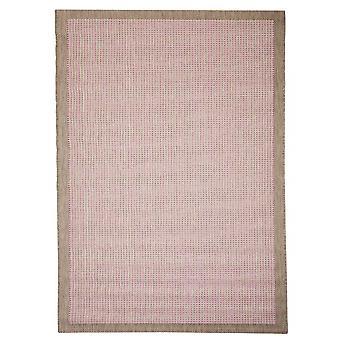 Quadrotte per terrazza / balcone di Essentials chrome rosa 160 / 230 cm tappeto indoor / outdoor - per interni ed esterni