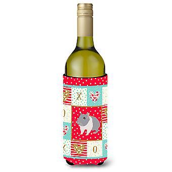 Carolines Treasures  CK5442LITERK South African Hamster Love Wine Bottle Hugger