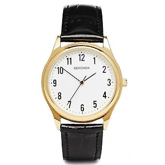 Sekonda Gents Gold Plated Watch