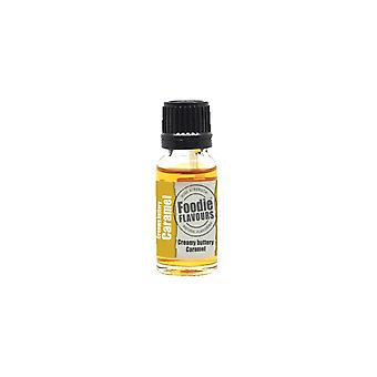 Foodie Flavours Creamy Buttery Caramel Natural Flavouring 15ml