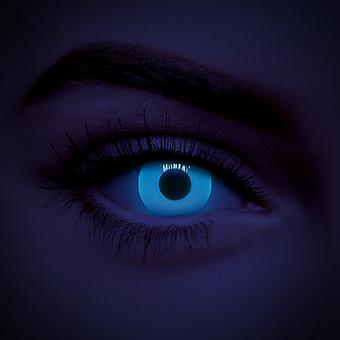 Blue UV i-Glow Colored Contact Lenses (Daily)