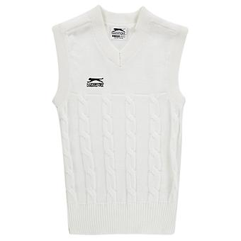 Slazenger Kids Classic Vest Mouwloos V-Neck Sportshirt Top