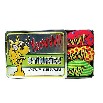 Yeowww Stinkies Catnip сардины
