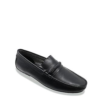 Chums Mens Leather Wide Fit Driving Shoe