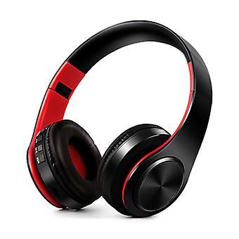 ZAPET Wireless Headphones Bluetooth Wireless Headphones Stereo Gaming Red-Black