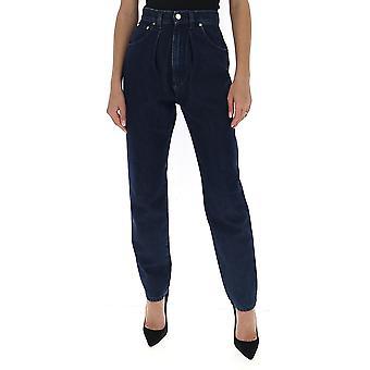 Alberta Ferretti 03131678v0290 Dames's Blue Cotton Jeans