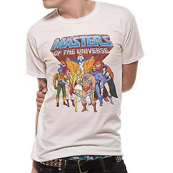 Masters Of Universe - Group & Logo T-Shirt