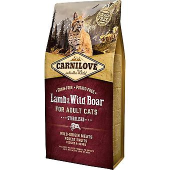 Carnilove Sterilised Cats Lamb & Wild Boar (Cats , Cat Food , Dry Food)