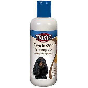 Trixie Two In One Shampoo (Cani , Toelettatura ed igiene , Shampoo)