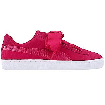 Kids Puma Girls Rock Ridge Leather Low Top Lace Up Fashion Sneaker