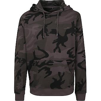 Cotton Addict Mens Camo Relaxed Fit Casual Hoodie