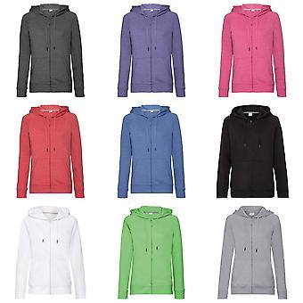 Russell Womens/Ladies HD Zipped Hood Sweatshirt