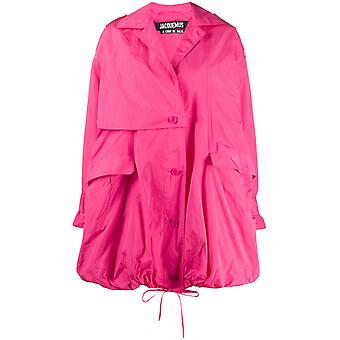 Jacquemus 201co0420101450 Women's Pink Polyester Outerwear Jacket