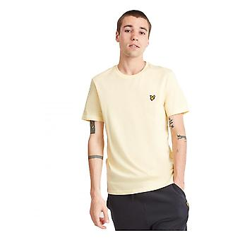 Lyle & Scott Basic Logo Tshirt Buttercream