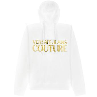 Versace Jeans Couture Gold Logo Print Hoodie
