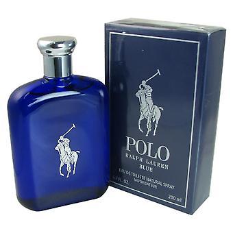 Polo blue by ralph lauren 6.7 oz eau de toilette spray