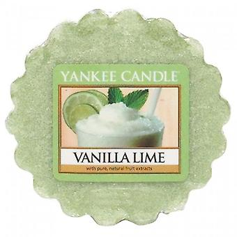 Yankee Candle Wax Tart Melt Vanilla Lime