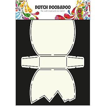 Olandese Doobadoo Dutch Card Art Stencil uovo di Pasqua A4 470.713.597