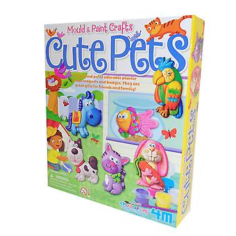 Childs mould and paint pets craft kit