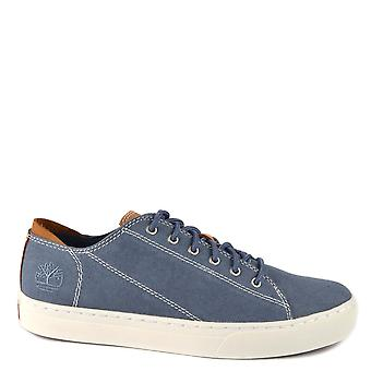 Timberland Adventure 2.0 Cupsole Blue Canvas Oxford Trainer