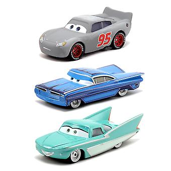 3-Pack Cars Cars Radiator Springs Classic McQueen Ramone & Flo Diecast