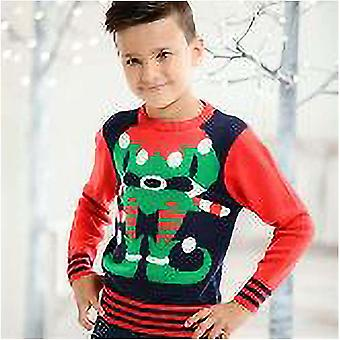 Christmas Shop Childrens/Kids Elf Jumper