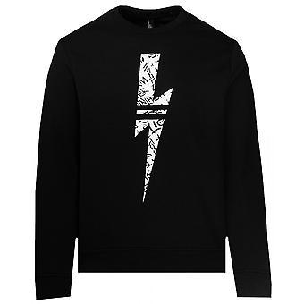 Neil Barrett Graffiti Bolt Sweater