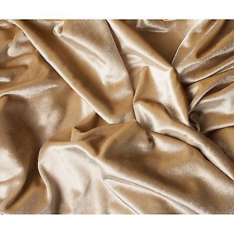 McAlister têxteis brilhantes champanhe ouro esmagado cortinas de veludo
