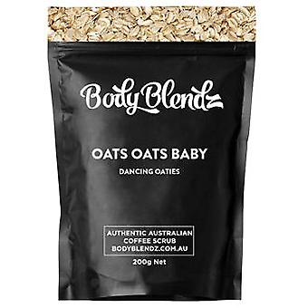 Body Blendz Oats Oats Baby Natural Body Scrub 200 gr