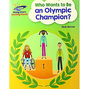 Reading Planet - Who Wants to be an Olympic Champion? - White - Galaxy