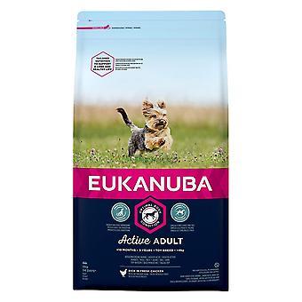 Eukanuba Active Adult Toy Breed Chicken Dog Food