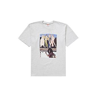 Supreme American Picture Tee Ash Grey - Clothing