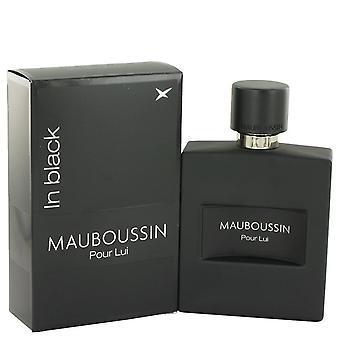 Mauboussin Pour Lui In Black Eau De Parfum Spray By Mauboussin 3.4 oz Eau De Parfum Spray
