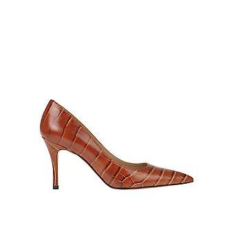 Roberto Festa Ezgl512003 Women's Brown Leather Pumps