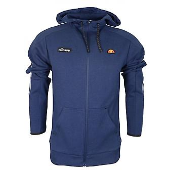 Bluza z kapturem Ellesse Averello Cotton Full Zip Navy