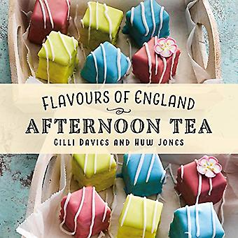 Flavours of England - Afternoon Tea by Gilli Davies - 9781912654949 Bo