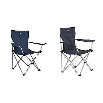 Trespass rozstrzygać składane krzesło Camping i torba