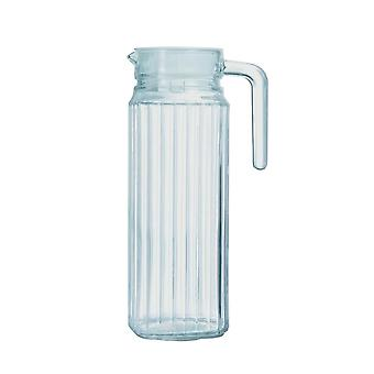 Luminarc Quadro Tall Glass Fridge Jug With Lid