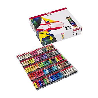 Amsterdam Acrylic Paint Set of All Colours 90 x 20ml