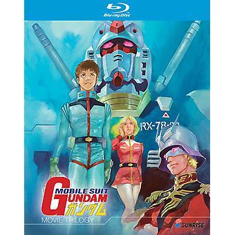 Mobile Suit Gundam Movie Trilogy [Blu-ray] USA import