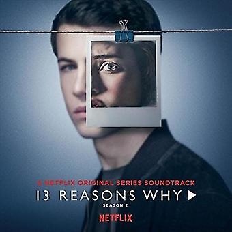13 anledningar till varför S2 (Netflix Original Series) / Ost - 13 anledningar till varför S2 (Netflix Original Series) / Ost [CD] USA import