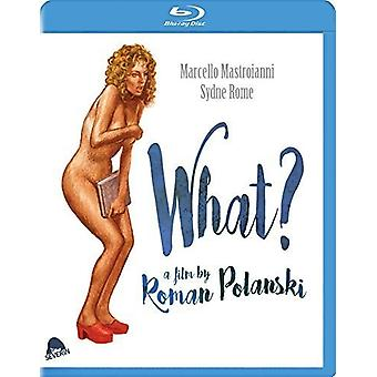 What? [Blu-ray] USA import